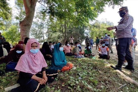 TNI Polri perketat penjagaan di lokasi pengungsi Rohingya