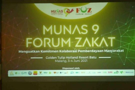 Wapres Ma'ruf dorong forum zakat turut pulihkan ekonomi