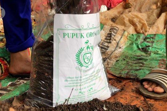 Bumdes di Batang manfaatkan sampah untuk pupuk organik