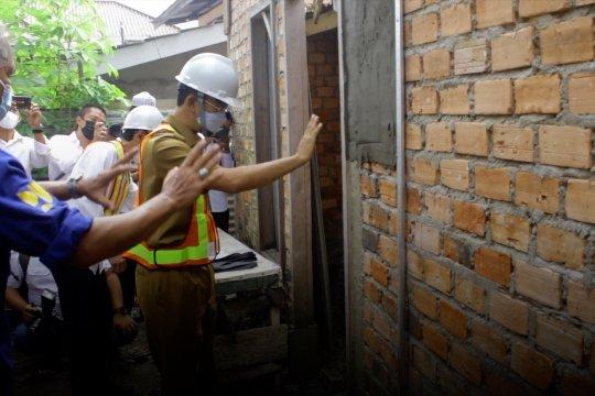 Pemkot Palembang renovasi 516 unit rumah tak layak huni