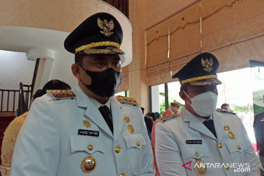 Wali Kota Medan ingatkan ASN jauhi pungli dan korupsi.
