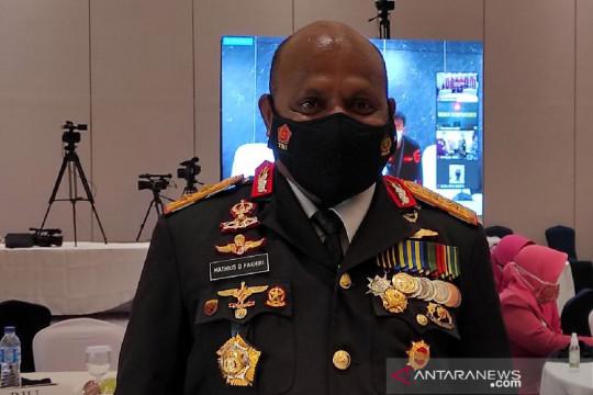 Kapolda Papua akui 11 tersangka teroris sudah diterbangkan ke Jakarta