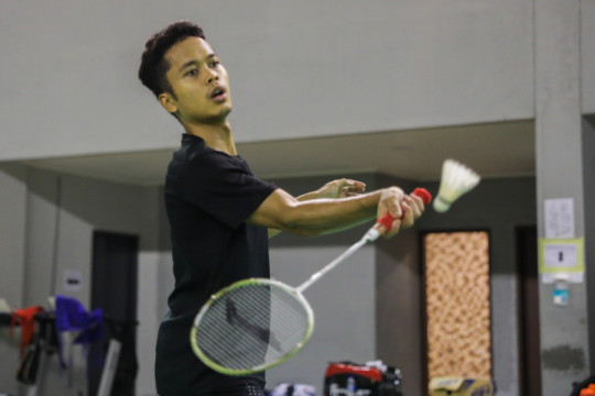 Ginting masih fokus berlatih di sisa tiga minggu Olimpiade Tokyo