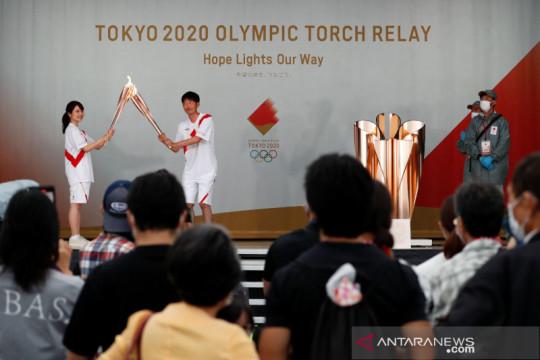 Kirab obor Olimpiade tidak memungkinkan digelar di jalanan Tokyo