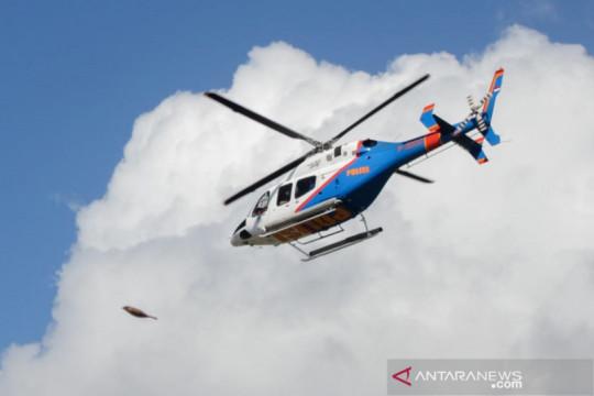 Polri kirim helikopter untuk bantu cari korban kecelakaan KMP Yunicee