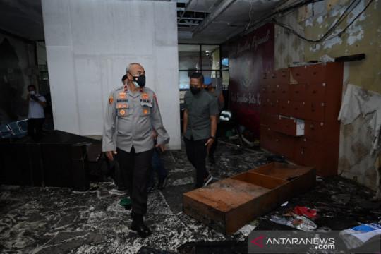 Kapolda Kalsel perintahkan investigasi kebakaran Polresta Banjarmasin