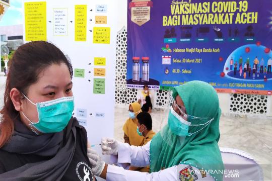 40.314 warga Banda Aceh sudah jalani vaksinasi COVID-19
