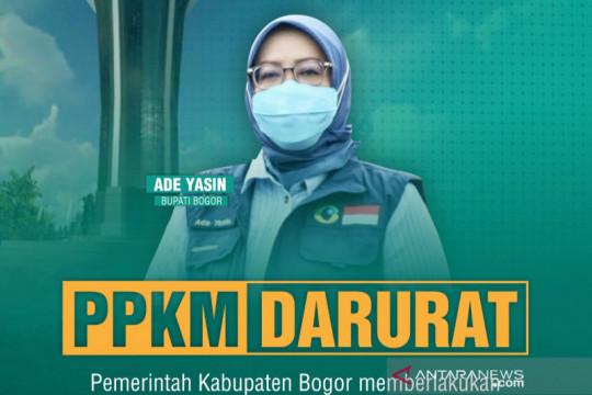Pemkab Bogor sosialisasi menjelang penerapan PPKM Darurat
