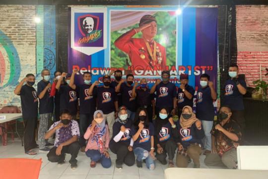 Relawan pendukung Ganjar Pranowo meluas hingga 14 daerah
