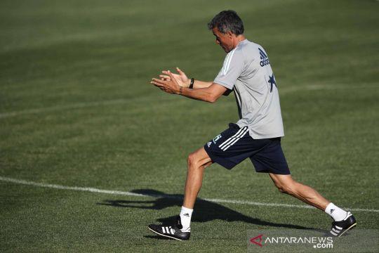 Euro 2020: Latihan timnas Spanyol jelang laga perempat final melawan Swiss