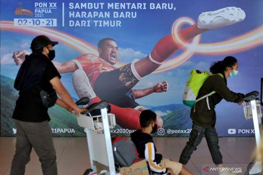 Promosi PON XX Papua di Bandara I Gusti Ngurah Rai