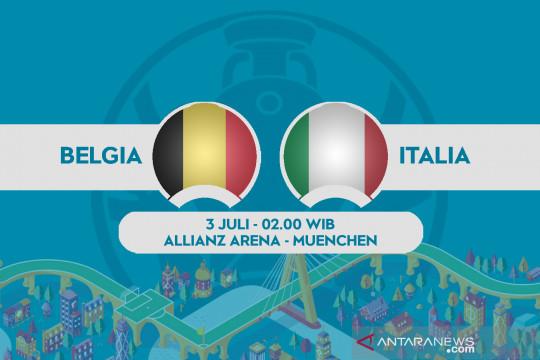 Italia tak mau main konservatif lawan Belgia