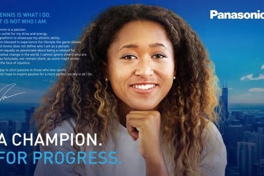 Panasonic gandeng Naomi Osaka sebagai duta merek