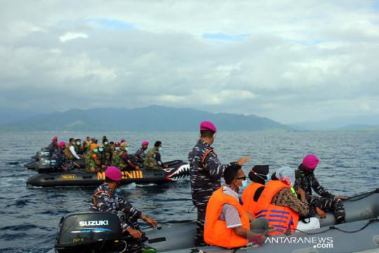 Brigif 4 Marinir/BS jemput warga pulau terpencil ikut vaksinasi