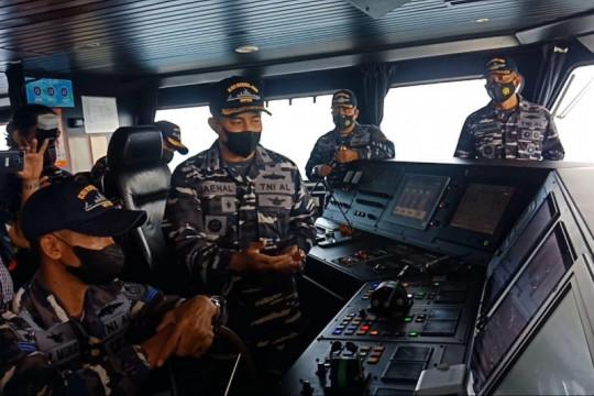 TNI AL pastikan posisi KMP Yunicee tak halangi jalur penyeberangan