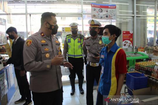Petugas gabungan sosialisasikan penerapan PPKM darurat kepada warga