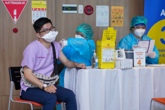 Sentra vaksinasi tiket.com diperpanjang hingga 10 Juli