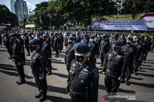 Polda Metro sekat 63 titik Jadetabek terkait PPKM Darurat Jawa-Bali
