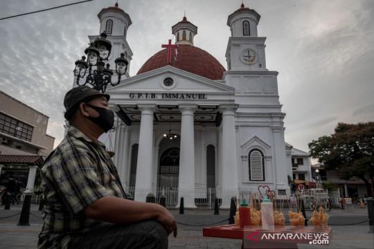Anak-anak belum divaksin dilarang masuk tempat wisata di Semarang