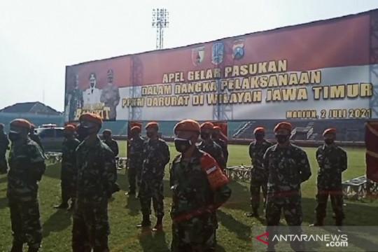 Korem Madiun tambah pasukan di wilayah level 4 PPKM darurat