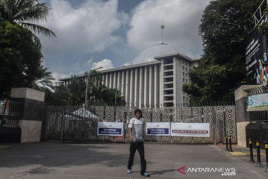 Jelang PPKM Darurat, Masjid Istiqlal ditutup sementara