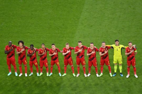 Susunan pemain Belgia vs Italia: de Bruyne main
