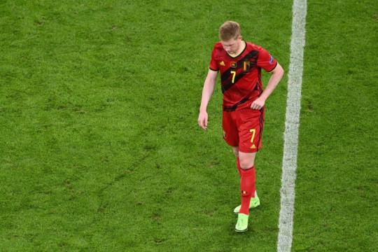 De Bruyne bilang Belgia yang diamuk cedera telah maksimal berusaha