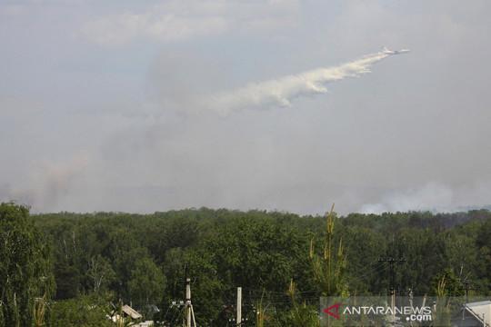 Gas klorin di Kota Izhevsk Rusia bocor
