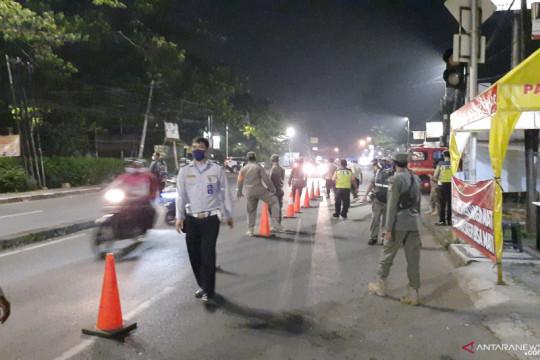 PPKM Darurat, 50 personel gabungan amankan perbatasan Jakarta-Depok