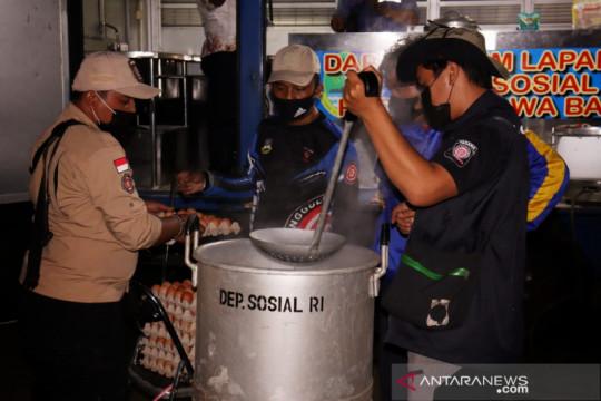 Kemensos dirikan dapur umum di Balai Wyata Guna Bandung
