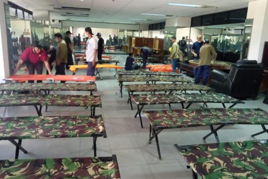 Tempat isolasi mandiri Kantor Wali Kota Jakarta Timur belum digunakan