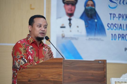 Plt. Gubernur Sulsel ajak ikhtiar dan perbanyak doa cegah COVID-19