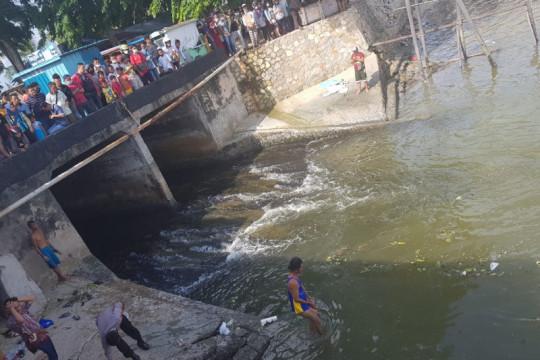 Bocah 10 tahun tewas setelah terseret arus Sungai Lakam Karimun