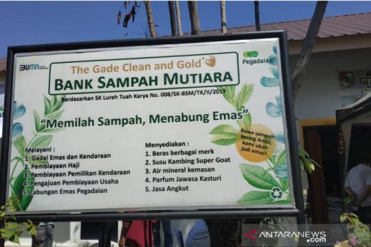 PT Pegadaian hargai sampah dengan tabungan emas