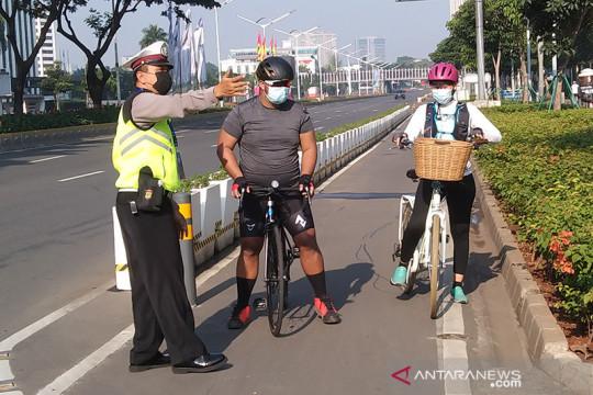 Mulai besok warga DKI boleh olahraga bersepeda melintasi jalan umum