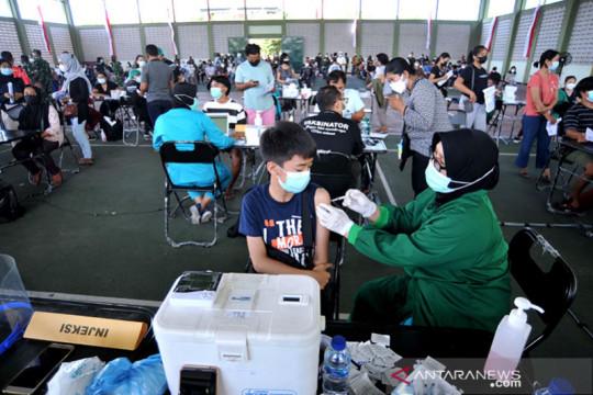 Gubernur Bali canangkan vaksinasi anak-anak serentak mulai 5 Juli