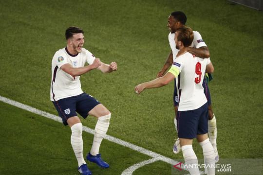 Inggris gulung Ukraina 4-0, Harry Kane: malam yang sempurna