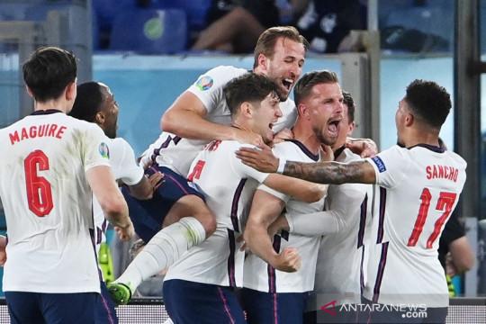"""Inggris """"pulang"""" ke Wembley selepas gasak Ukraina 4-0"""