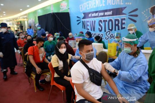 Korem 101/Antasari lebihi target sasaran vaksinasi ke masyarakat