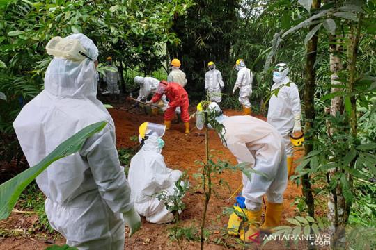 16 warga Sukabumi meninggal akibat COVID-19
