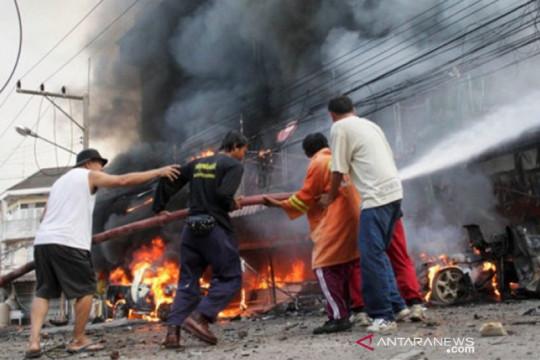 Ledakan pabrik di Thailand tewaskan 1 orang, ribuan dievakuasi
