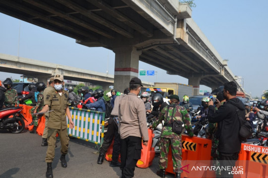 9.605 kendaraan diputar balik saat PPKM Darurat di Jakarta Timur