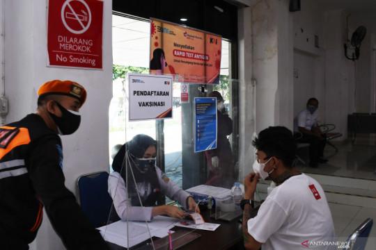 13 stasiun layani vaksinasi gratis bagi pelanggan KAI