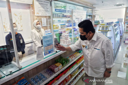 Bukalapak dukung regulasi Harga Eceran Tertinggi obat masa pandemi