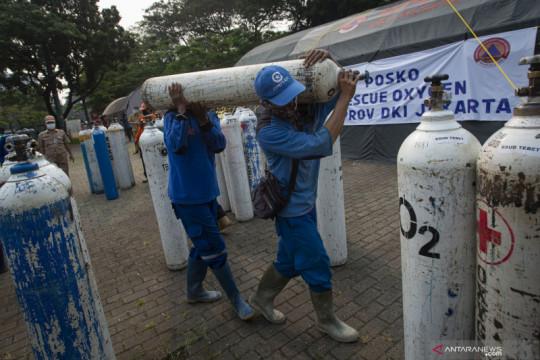 Pemprov DKI Jakarta dirikan Posko Darurat Oksigen di Monas