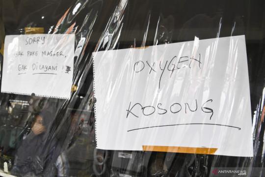 Polda Metro selidiki kelangkaan pasokan oksigen saat PPKM Darurat
