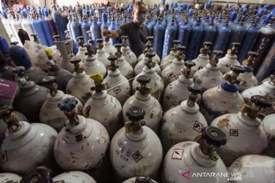 Permintaan naik, produsen oksigen tingkatkan produksi hingga 20 persen