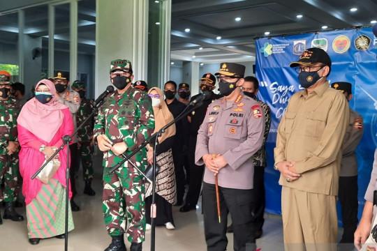 Panglima TNI-Kapolri beri dukungan moril kepada tenaga kesehatan