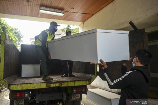 Pemprov DKI sediakan peti jenazah COVID-19 gratis di TPU Petamburan