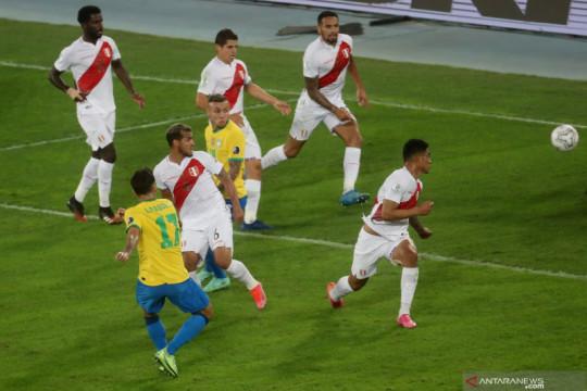 Brazil melaju ke final Copa America usai menang tipis 1-0 atas Peru